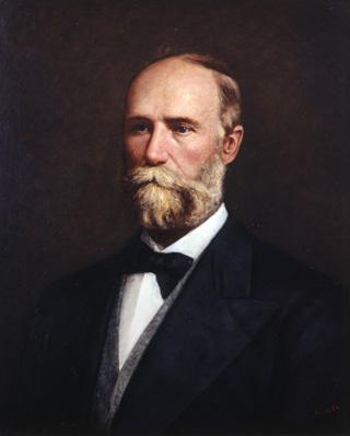 Convention President Edmund J. Davis